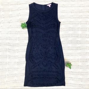 {Lilly Pulitzer} Sleeveless Shift Dress Mesh
